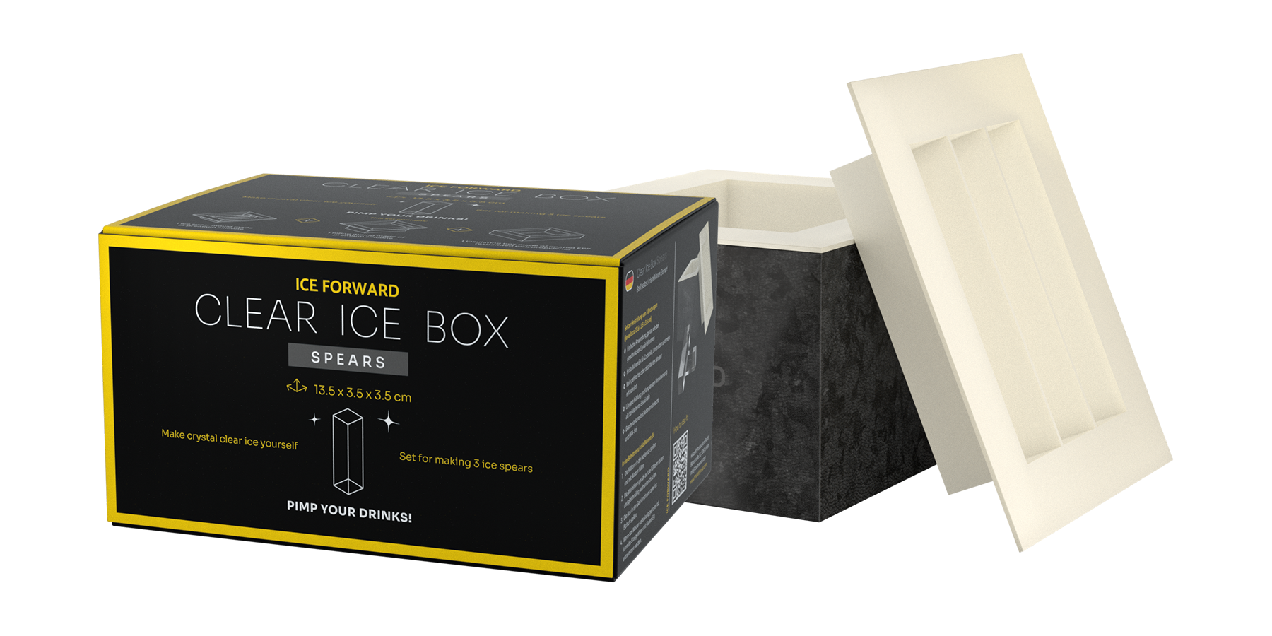 Clear Ice Box